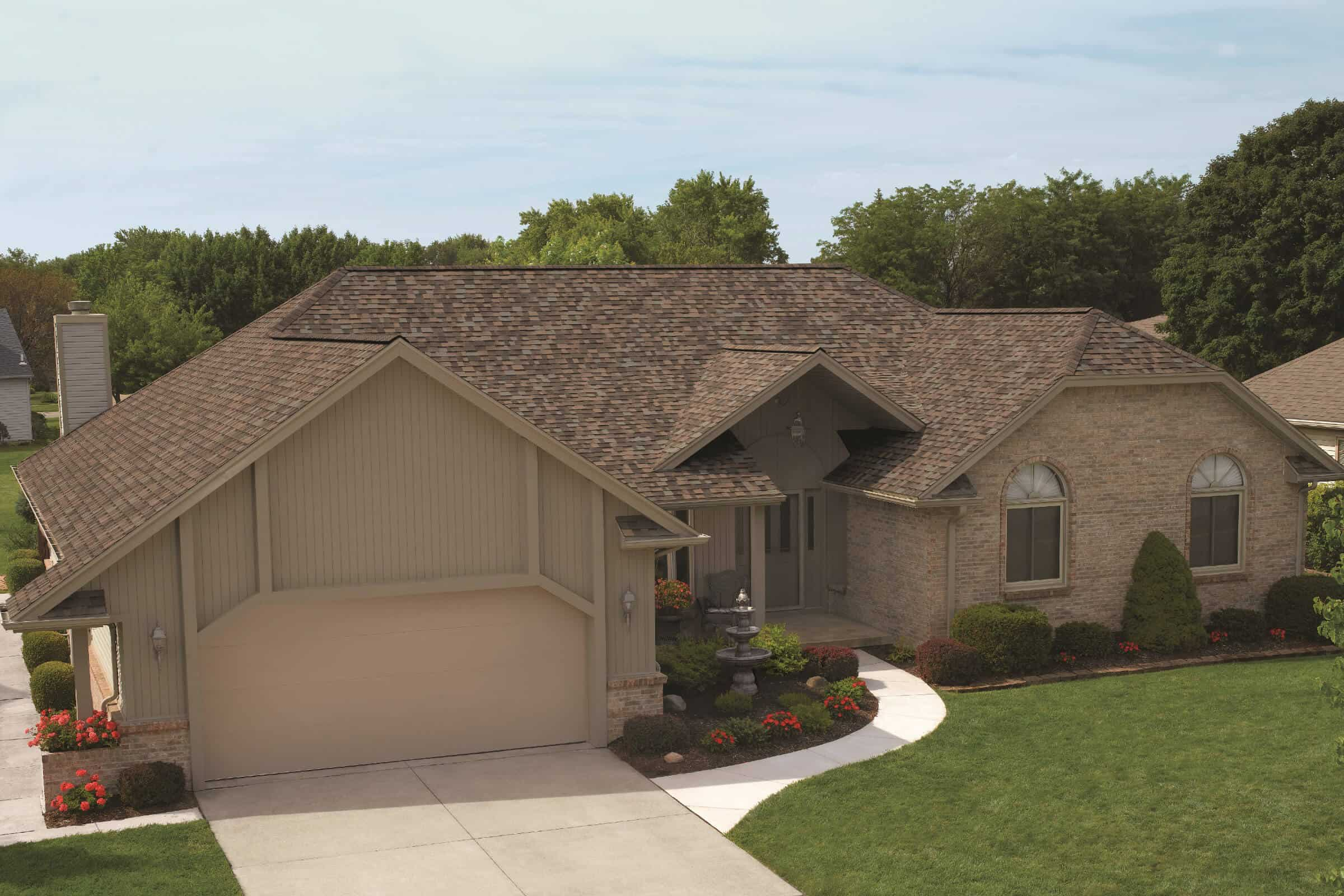 Aged Coppertop home with a double garage