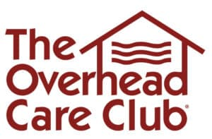 The Overhead Care Club Logo we extend roof life